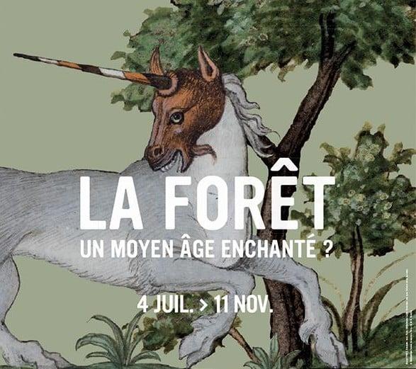 Le Musée Saint-Antoine-l'Abbaye dédie une exposition à la forêt dans l'imaginaire médiéval © Département de l'Isère