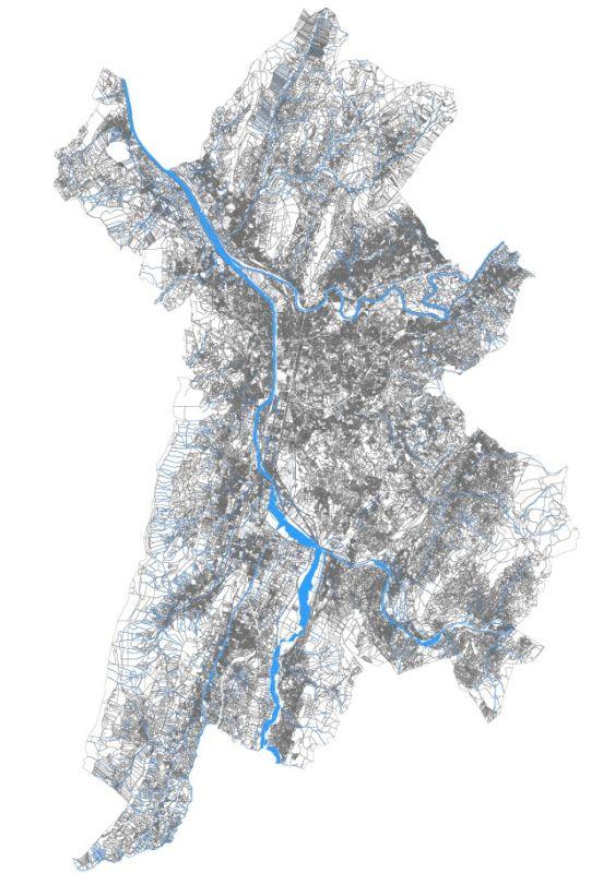 """""""L'ours qui danse"""" : carte de Grenoble-Alpes-Metropole"""