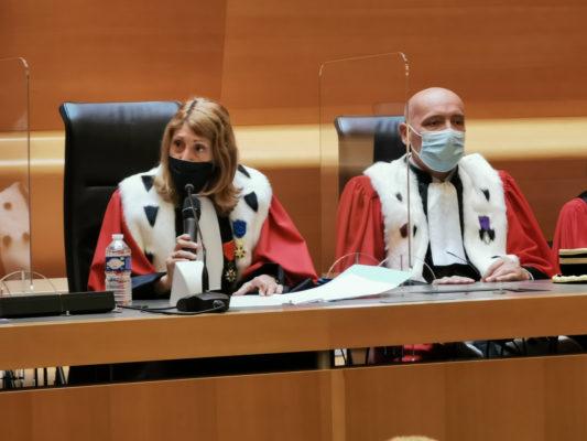 La Cour d'appel de Grenoble a fait sa rentrée. Pascale Vernay, première présidente de la Cour d'appel de Grenoble. © Joël Kermabon - Place Gre'net
