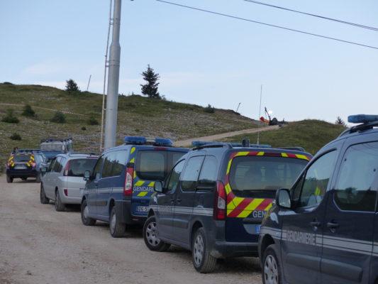 D'importants secours étaient mobilisés sur le site de l'accident. © Paul Turenne - Place Gre'net