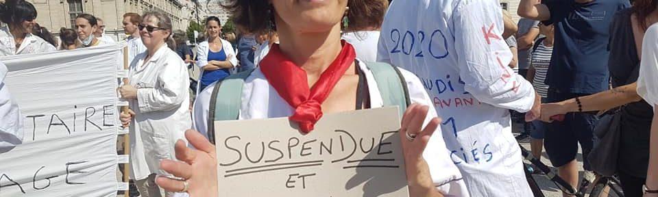 Dixième mobilisation contre le passe sanitaire et pour la liberté de vaccination à Grenoble, samedi 18 septembre 2021 © Séverine Cattiaux - Place Gre'net