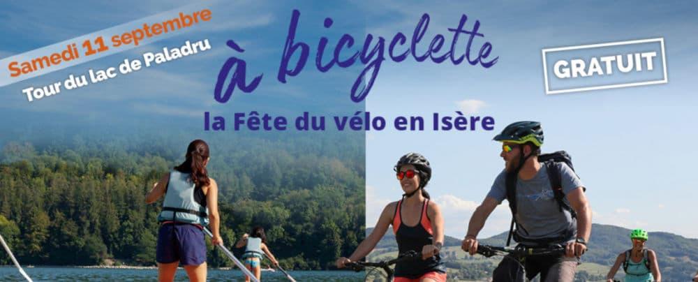 Visuel « À bicyclette - Fête du vélo en Isère » © Département de l'Isère