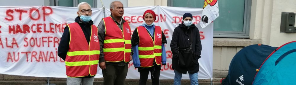 """Des agents du Crous Grenoble Alpes ont débuté une grève de la faim ce lundi 20 septembre 2021, devant la Maison des étudiants, pour dénoncer notamment de """"graves dysfonctionnements"""" internes."""