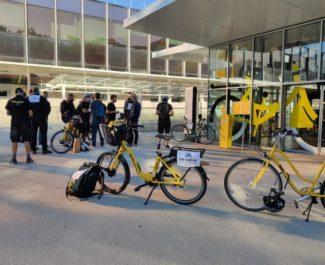 Grève du service Métrovélo à Grenoble, mercredi 8 septembre 2021. DR