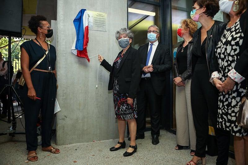 L'école Marianne-Cohn de Grenoble a été inaugurée vendredi 17 septembre © Sylvain Frappat - Ville de Grenoble