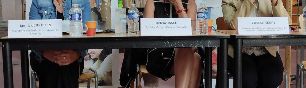 """Rentrée: la rectrice de l'Académie de Grenoble """"optimiste""""... les syndicats sur le pied de guerre"""