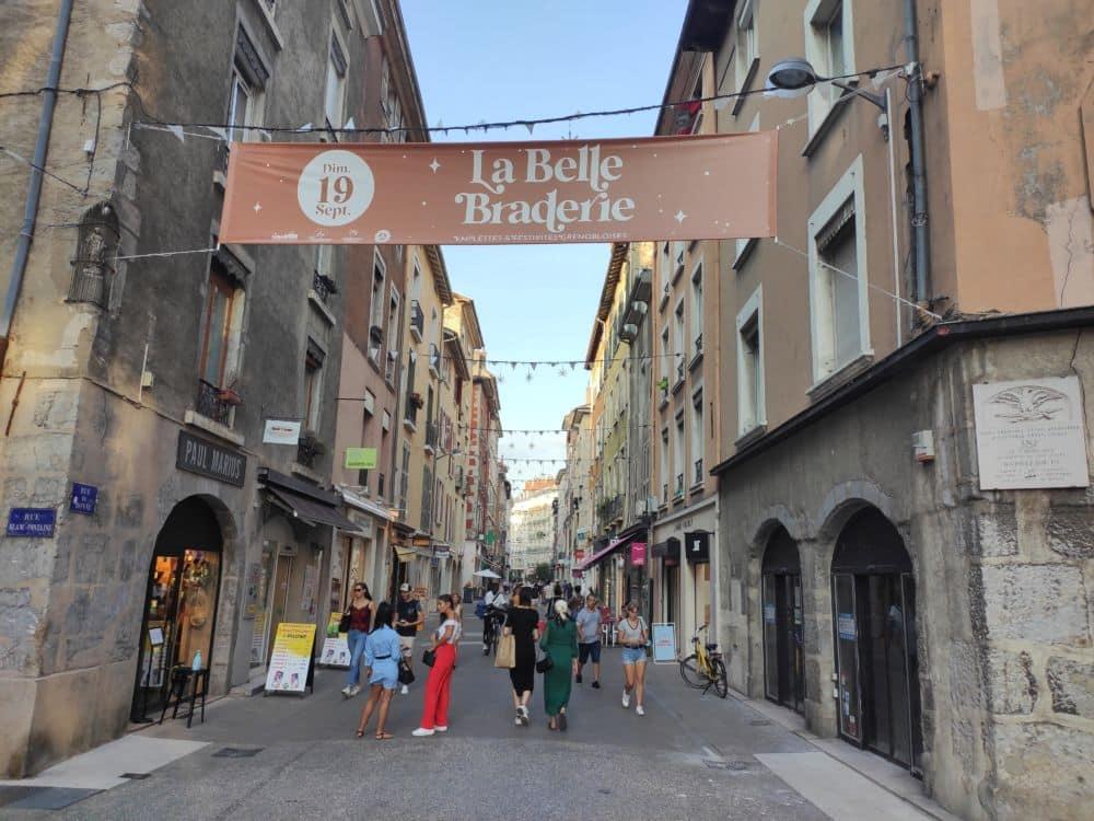Avec La Belle Braderie le 19 septembre, Label Ville veut initier une braderie d'un genre nouveau sur Grenoble