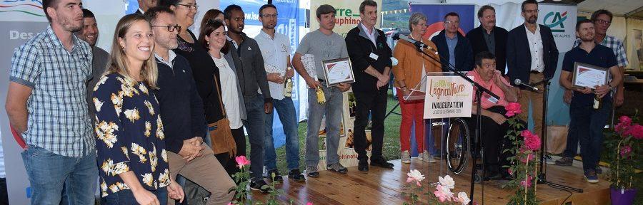 Dix lauréats pour la troisième édition des Prix de l'Excellence agricole et rurale de Terre Dauphinoise