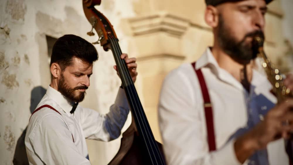 Le groupe de swing Les Chats Badins est en concert au Musée de la Résistance de l'Isère à l'occasion des JEP © Les Chats Badins - Facebook