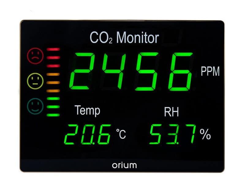 De moins de 50 euros à 400 euros... Quel est le juste prix pour un capteur CO2 ? DR