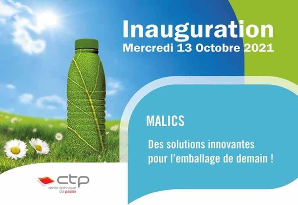 Le Centre technique du papier de Grenoble inaugure officiellement sa plateforme Malics à l'occasion du Rendez-vous CTP mercredi 13 octobre © CTP