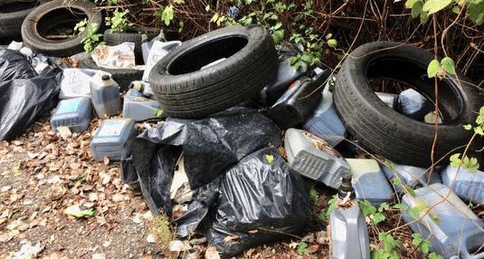 France Nature Environnement Isère organise une grande campagne de lutte contre les dépôts sauvages de déchets du 4 au 17 octobre 2021, en partenariat avec la Métropole de Grenoble. © FNE Isère