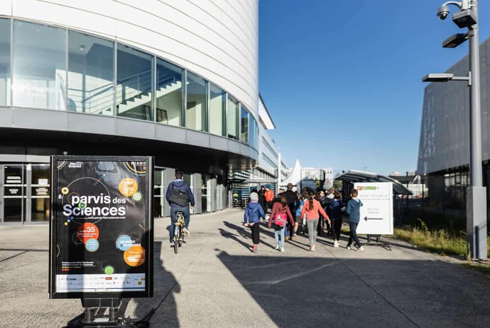 Le Parvis des sciences à Minatec. © Campus d'innovation Giant