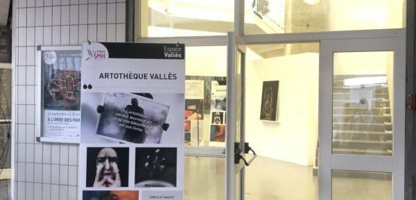 Artothèque à l'Espace Vallès de Saint-Martin d'Hères © Laure Gicquel - Place Gre'net