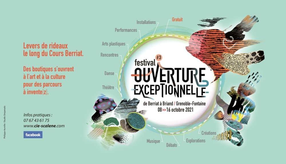 La nouvelle édition d'Ouverture exceptionnelle se déroule du 8 au 16 octobre 2021. © Ville de Grenoble