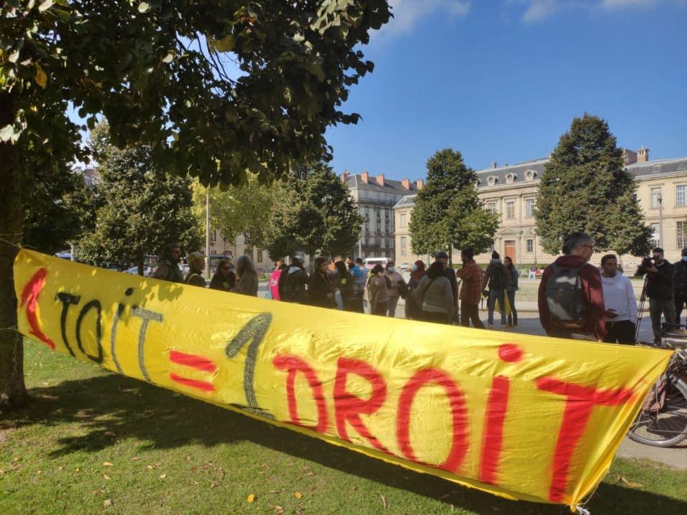 Rassemblement place Verdun mardi 12 octobre contre le mal-logement à l'appel du DAL 38