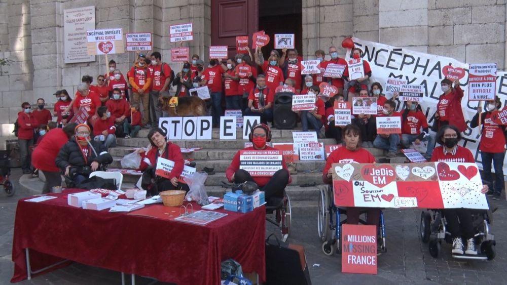 Grenoble : mobilisation contre l'encéphalomyélite myalgique