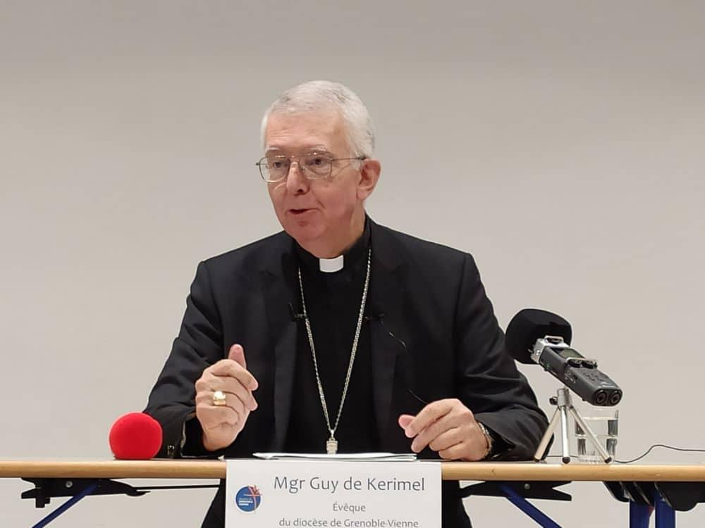"""Abus sexuels dans l'Église: l'évêque du diocèse de Grenoble veut """"regarder la réalité en face"""""""