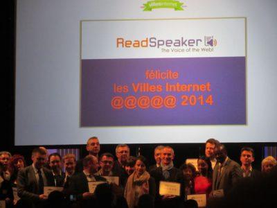 La cérémonie de remise du label en 2014 @WikiCommons