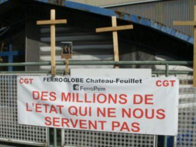 Le site de l'usine FerroPem en Savoie. Photo DR