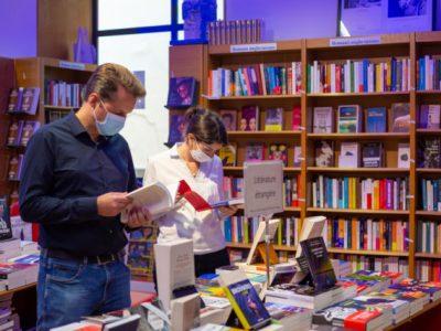 Marc Bordier est le nouveau directeur de la librairie Arthaud. Photo DR