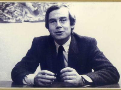 François Gillet, ancien Maire de Meylan de 1971 à 1983. © Mairie de Meylan