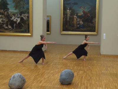 Chorégraphie sur une oeuvre de Guiseppe Penone