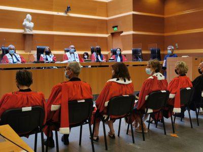 Audience de rentrée de la cour d'appel de Grenoble. © Joël Kermabon - Place Gre'net