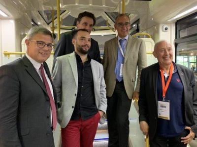 Bus hybride Safra Une