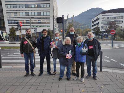 PCF et CGT main dans la main pour porter les revendications salariales des syndicats du CEA de Grenoble