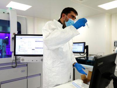 Le laboratoire co-construit par Roche Diagnostics à Monaco. © Direction de la communication Monaco