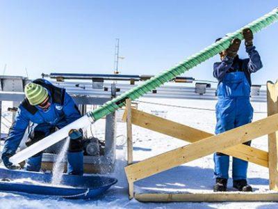 COUV-Variations-temperatures-Antarctique-Est-et-Ouest-Carottage-Mesures