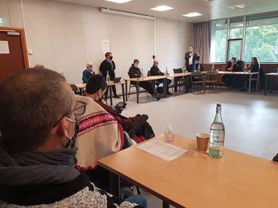 COUV Première réunion du Comité de liaison citoyen ce samedi 7 novembre 2020. © Séverine Cattiaux