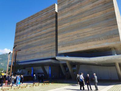 Le nouveau bâtiment des archives départementales de l'Isère. © Joël Kermabon - Place Gre'net
