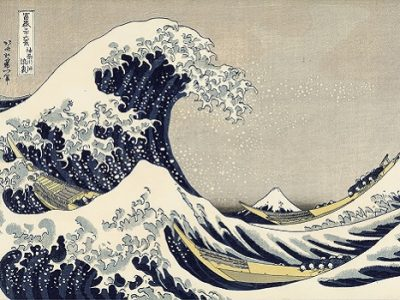 Sous la vague au large de Kanagawa_Hokusai