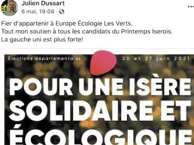 A Pont-de-Claix, EELV a désormais l'embarras du choix. Avec des élus encartés à la fois dans la majorité et dans l'opposition...