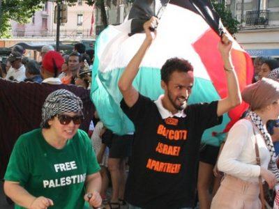 Char Palestine Fête des Tuiles une