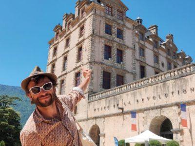 Paysage>Paysages : château de Vizille Bruno Thircuir, du collectif