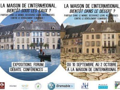 Le mois du climat se déroule du 10 septembre au 2 octobre à la Maison de l'Internationale de Grenoble.