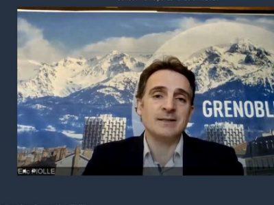 Cm Grenoble 20 avril Piolle - UNE