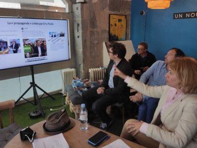 Conférence de presse Émilie Chalas Grenoble a coeur pollution COUV