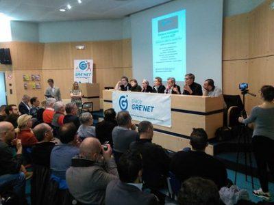 Débat Place Gre'net municipales Grenoble UNE