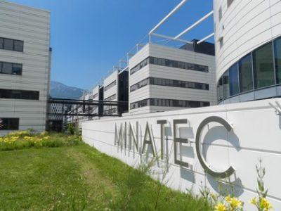 Inauguration de la première unité de production industrielle d'hydrogène renouvelable au CEA de Grenoble © Edouard Merlo