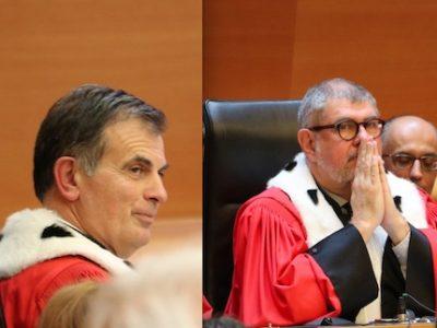 A la cour d'appel de Grenoble, Jacques Dallest et Jean-François Beynel s'inquiètent aussi de la réponse apportée à la montée des violences.