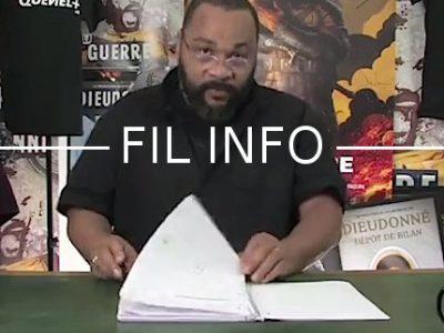 Dans une vidéo mise en ligne, Dieudonné réplique à l'interdiction de la ville de Grenoble d'accueillir son spectacle le 28 octobre prochain.
