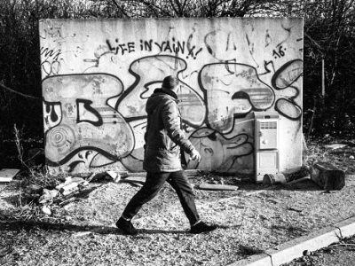 Graffiti Dof le Bof DR