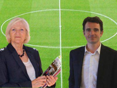 Francie Mégevand, mairie d'Eybens et Eric Piolle, maire de Grenoble. Lequel des deux gagnera le match... contre le clientélisme ? © placegrenet.fr