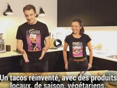COUV Eric Piolle joue les influenceurs de mode culinaire sur Internet à l'approche du second tour DR