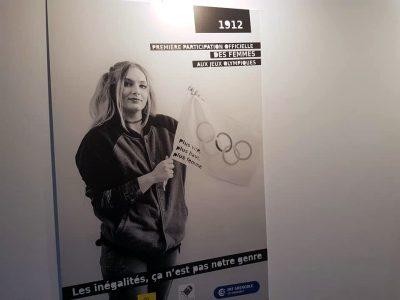 Droits des femmes : une expo avec Petite Poissonne Inauguration de l'exposition à Grenoble