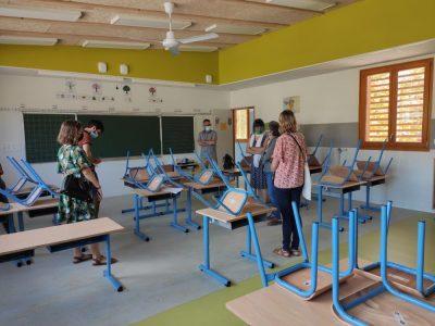 L'école Racine de Grenoble s'offre un coup de neuf estival